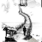 """Уладзімір Чараухін. Раздзел паэзіі """"Сэрца свету"""". Ілюстрацыя 2"""